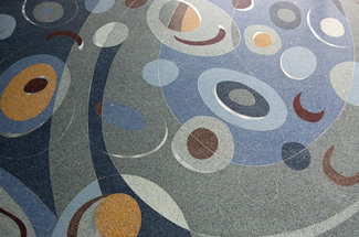 Terrazzo Project - commercial - DECC Arena - Duluth, Minnesota