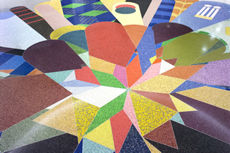 Terrazzo Project - commercial - Lampert International Airport - St. Louis, Missouri