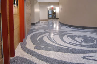 Terrazzo Project - education - Sabin Hall @ University of Northern Iowa - Cedar Falls, Iowa
