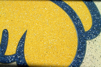 Terrazzo Project - education - Allen Fieldhouse - University of Kansas