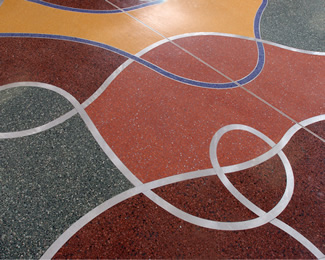 Terrazzo Project - education - St. Cloud State University - St. Cloud, Minnesota
