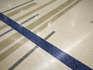 Terrazzo Project - education - Leonard Center @ Macalester College - St. Paul, Minnesota