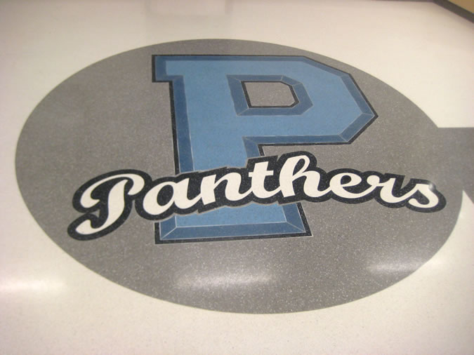 Terrazzo Project - education - Pinckneyville High School - Pinckneyville, Illinois
