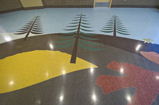 Terrazzo Project - government - Bemidji Regional Event Center - Bemidji, Minnesota