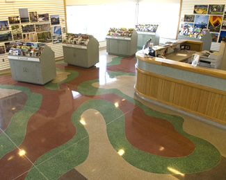 Terrazzo Project - government - Interstate 80 Rest Area - Iowa