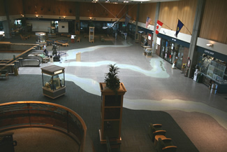 Terrazzo Project - government - Great Falls Airport - Montana