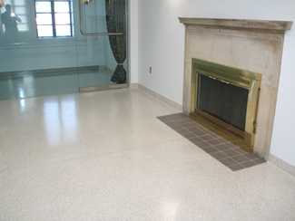 Terrazzo Project - government - Fort Snelling Crematorium - St. Paul, Minnesota