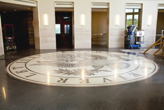 Terrazzo Project - government - Jefferson City Justice Center - Jefferson City, Missouri