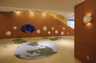 Terrazzo Project - medical - Childrens Hospital - Milwaukee, Wisconsin