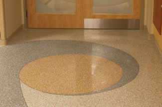 Terrazzo Project - medical - Door County Memorial Hospital - Sturgeon Bay, Wisconsin