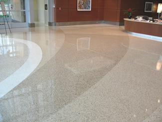 Terrazzo Project - medical - St. Johns Mercy Hospital - St. Louis, Missouri