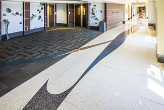 Terrazzo Project - medical - CastleRock Hospital - Castle Rock, Colorado