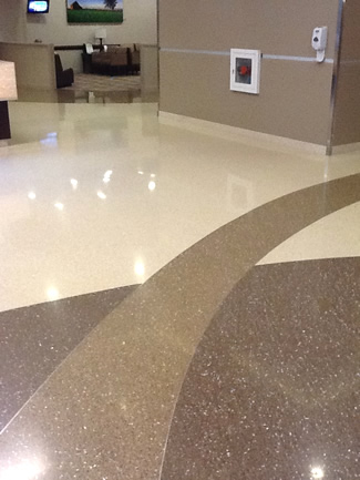 Terrazzo Project - medical - St. Luke's Mid America Heart Institute - Kansas City, Missouri